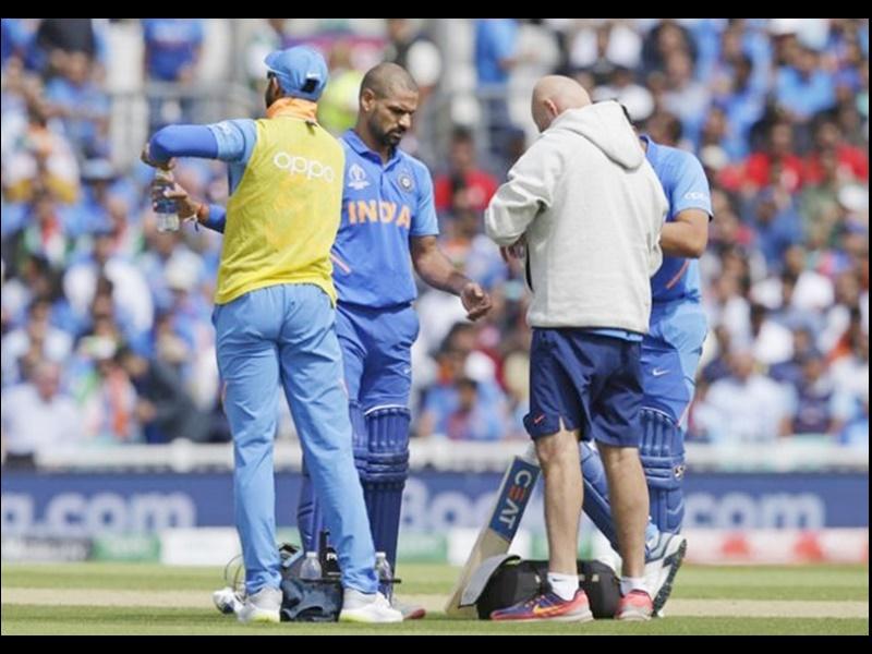 World Cup Cricket 2019: शिखर को लेकर BCCI ने दी ये जानकारी