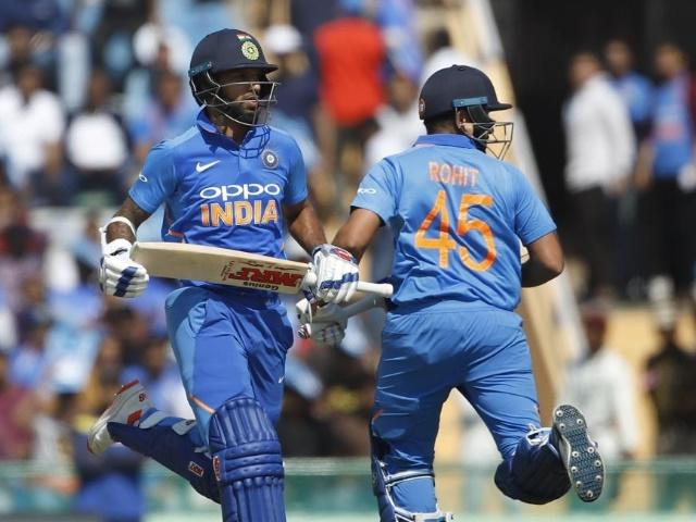 Ind vs Aus: धवन-रोहित ने तोड़ा सचिन-वीरू का खास रिकॉर्ड