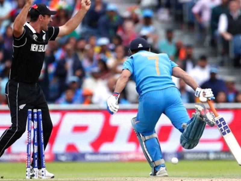 India vs New Zealand: क्या नोबॉल पर रन आउट हुए धोनी, सोशल मीडिया पर छिड़ी बहस