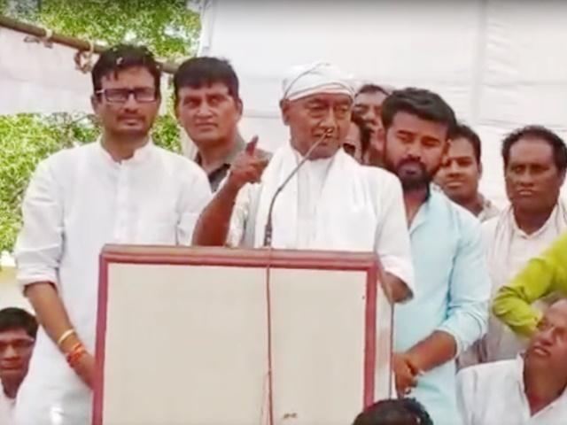 Video : मणिशंकर के बाद अब दिग्विजय सिंह के बिगड़े बोल, यह क्या कह गए