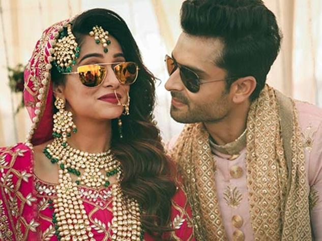 यहां देखिए 'सिमर' की शादी के UNSEEN PICS