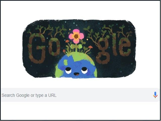 स्पेशल Doodle संग Google मना रहा Spring Equinox 2019, जानिए क्या है इसका मतलब