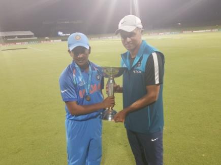 भारत की अंडर-19 विश्व कप जीत पर द्रविड़ ने दिया ऐसा बयान