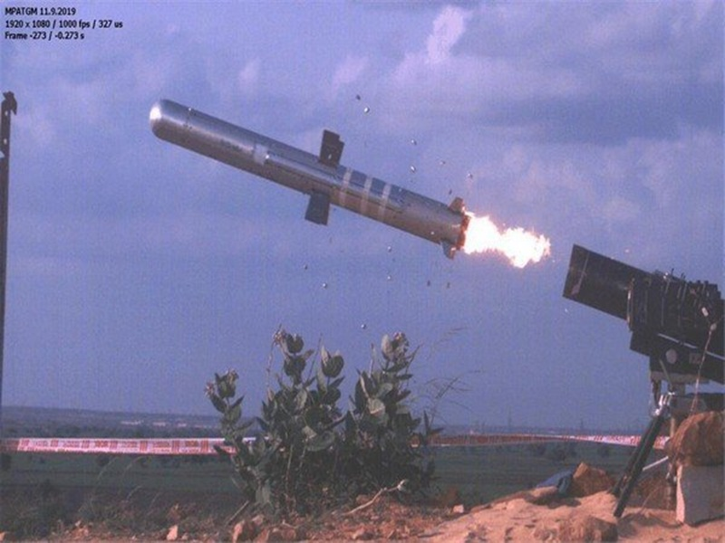 तीसरी पीढ़ी की एंटी-टैंक गाइडेड मिसाइल का DRDO ने किया सफल परीक्षण
