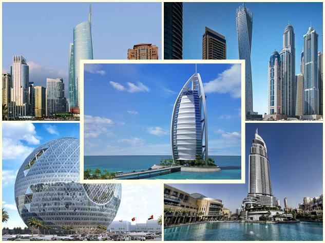 दुबई की शान हैं ये शानदार बिल्डिंग्स, देखने आते हैं दुनिया भर के लोग