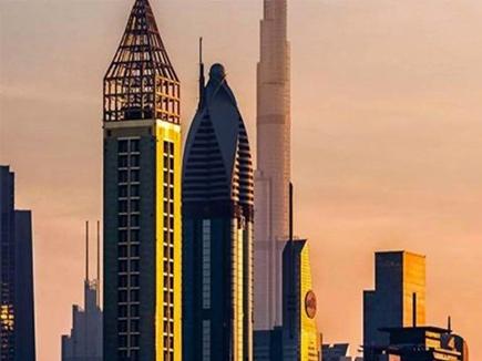 दुबई में खुला दुनिया का सबसे ऊंचा होटल, एफिल टावर से भी है लंबा