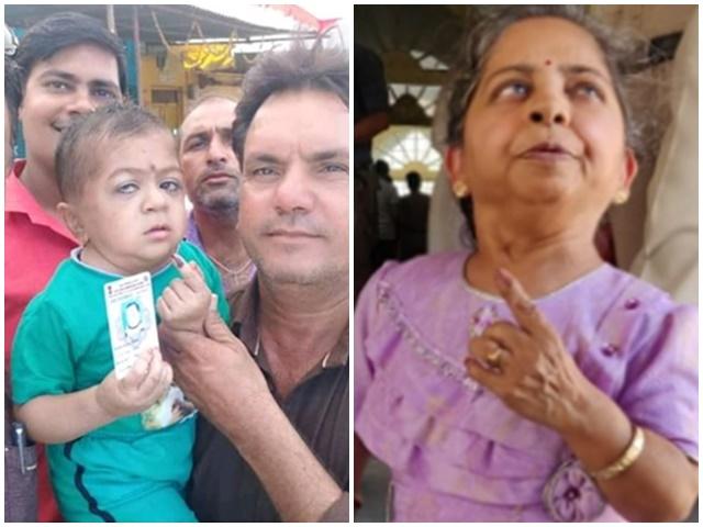 Madhya Pradesh 7th Phase Polling : ये वोटर कद में भले कम हों, लेकिन जज्बे का हर कोई कायल