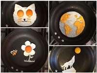 OMG : अंडों से की ऐसी कलाकारी जिसे देखकर हैरान हो जाएंगे आप
