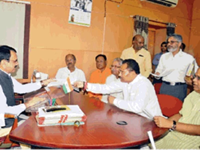 भाजपा ने की छत्तीसगढ़ में निकाय चुनाव ईवीएम से कराने की मांग