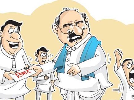 Chhattisgarh : कांग्रेस हाईकमान ने परिजनों के टिकट के लिए लॉबिंग कर रहे नेताओं की बढ़ाई चिंता