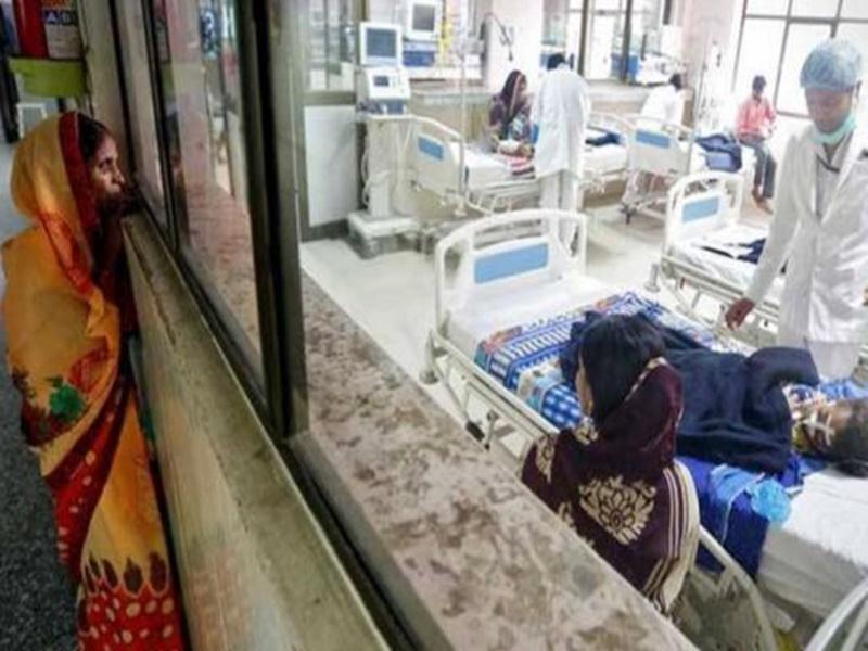 इंसेफलाइटिस से सात और बच्चों ने दम तोड़ा, मृतकों की तादाद बढ़कर हुई 58