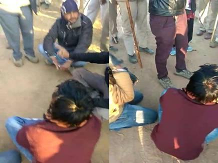 वीडियो : NTPC के सामने धरना दे रहे किसानों को पुलिस ने किया गिरफ्तार