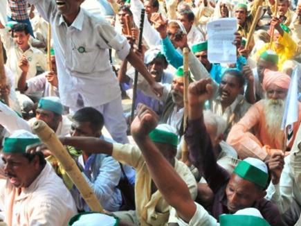 कर्ज माफी की मांग को लेकर राजस्थान में आज किसानों का प्रदर्शन