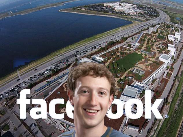 तस्वीरों में फेसबुक का नया ऑफिस