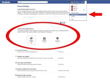 fb privacy settings 11 09 2017