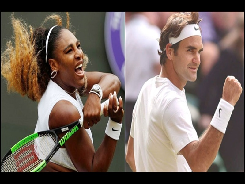 Wimbledon tennis: सेरेना, हालेप सेमीफाइनल में, फेडरर की नजरें अपनी 100वीं जीत पर