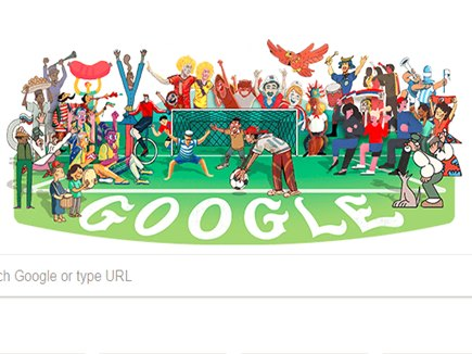FIFA World Cup के फीवर में डूबा गूगल, बनाया विशेष डूडल