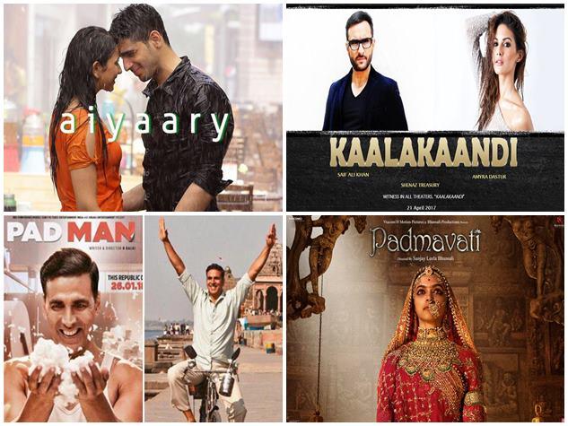 BOX OFFICE : 2018 में रिलीज हुई इन फिल्मों की ये है कमाई