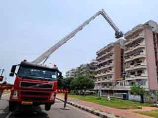 बहुमंजिला इमारतों की आग बुझाने निगम खरीदेगा फायर लिफ्ट