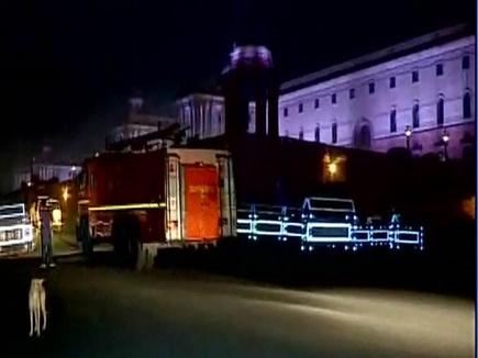 PMO के कमरा नंबर 242 में लगी आग, दमकल ने काबू पाया