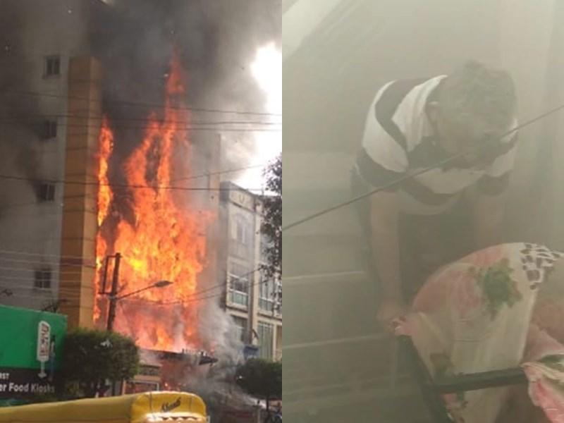 Fire in Indore Hotel : इंदौर के होटल में भीषण आग, देखिए वीडियो ऐसे बचाया गया फंसे लोगों को
