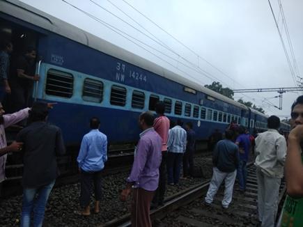 बैतूल : चेन्नई जयपुर एक्सप्रेस में शॉर्ट सर्किट से आग, यात्रियों में हड़कंप