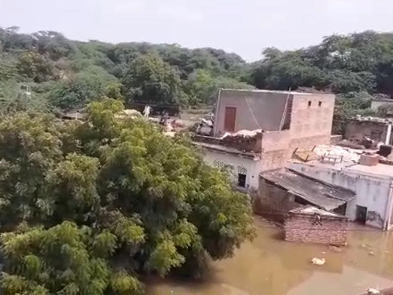 चंबल नदी में आया उफान, भिंड के कई गांवों में किया गया रेस्क्यू