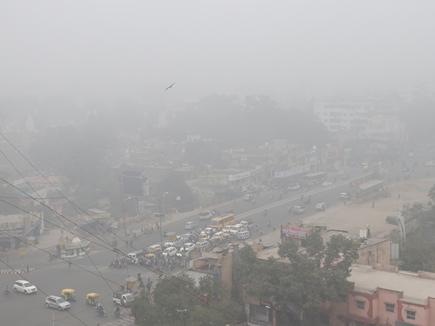 Cold wave in MP: कोहरे की चपेट में मप्र, सीधी और मंडला में बारिश