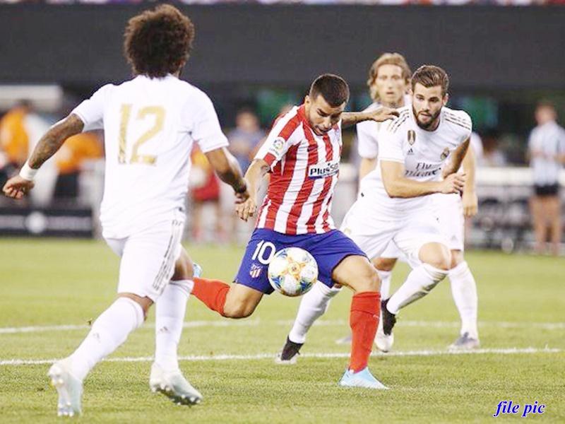 Football news : एटलेटिको से भिड़ेगा रियल मैड्रिड, दोनों टीमें खराब दौर से बाहर निकलने की कोशिश करेगी