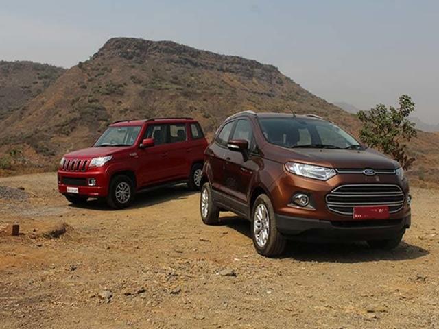 ऑटोमोबाइल कंपनियां फोर्ड और महिंद्रा ने मिलाया हाथ