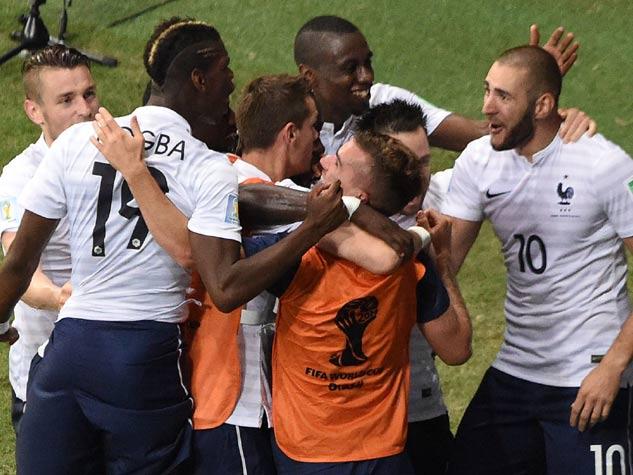 फ्रांस-स्विट्जरलैंड मैच में लगी गोलों की झड़ी