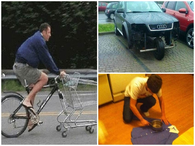 PHOTOS: जुगाड़ के लिए कुछ ऐसा किया कि लोग ले रहे जमकर मजे