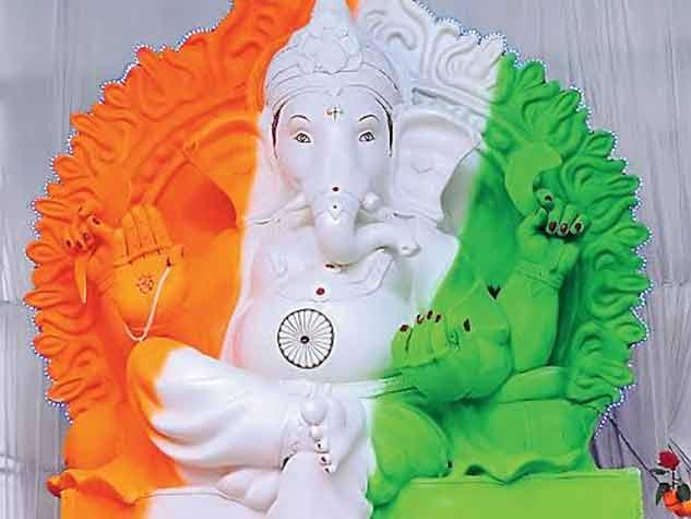 रायपुर और राजनांदगांव में गणेश उत्सव के रंग