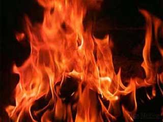 चंडीगढ़ में भीषण आग से आरसीसी बिल्डिंग ध्वस्त