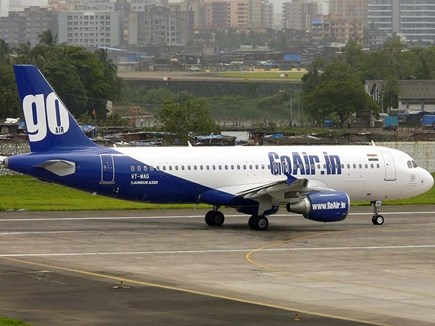 दिल्ली जा रहे गो एयर विमान के इंजन में आई खराबी, हुई आपात लैंडिंग