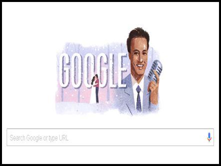 गूगल ने डूडल से गायक मुकेश को श्रद्धांजलि दी