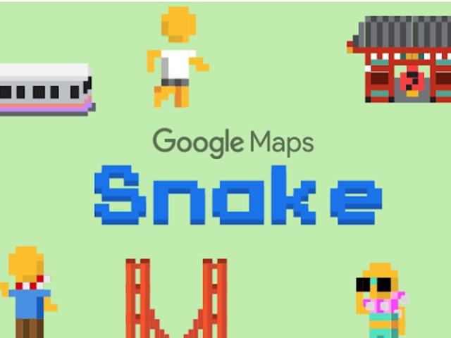 Google Map में जुड़ा क्लासिक Snake गेम, लेकिन खेलने का अंदाज है अलग