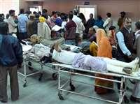 बीमार है स्वास्थ्य मंत्री के जिले का सबसे बड़ा सरकारी अस्पताल