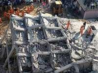 ग्रेटर नोएडा इमारत हादसे के बाद एक्शन में प्रशासन, एक भवन सील, तीन दर्जन पर नोटिस चस्पा