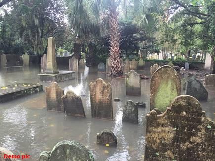graveyard in flood 2017718 0943 16 07 2017