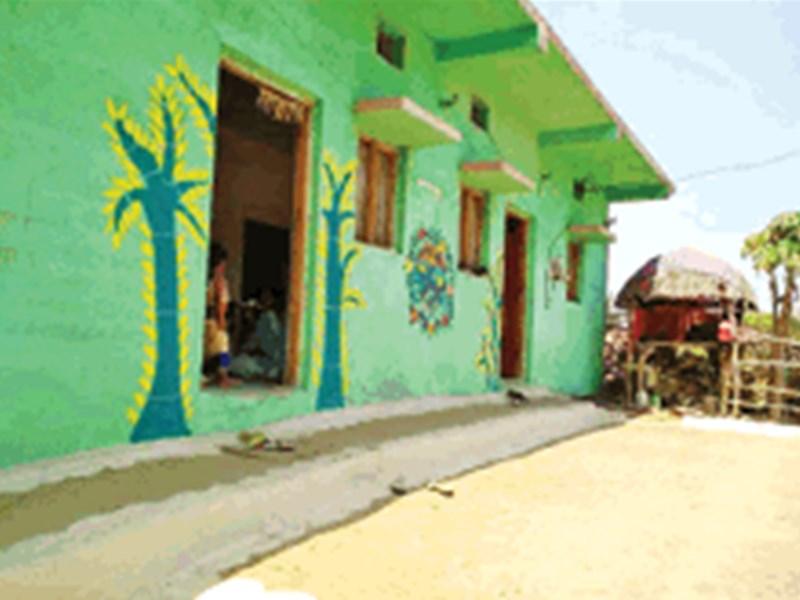 Madhya Pradesh : 'ग्रीन विलेज' छेड़का का हर घर अब हरा-भरा