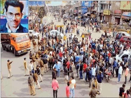 Gwalior Accident : सब्जी लेने जा रहे शख्स को ट्रक ने कुचला, हादसे के बाद पथराव