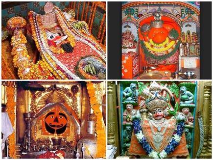 हनुमान जयंती विशेष : इन मंदिरों के दर्शनमात्र से दूर होते हैं पाप
