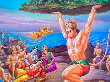 Image result for hanuman parvat