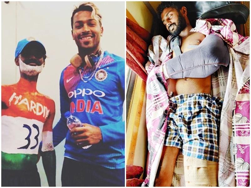 Hardik Pandya superfan: सुपर फैन की ऐसी की मदद, हार्दिक पांड्या ने दिल जीता