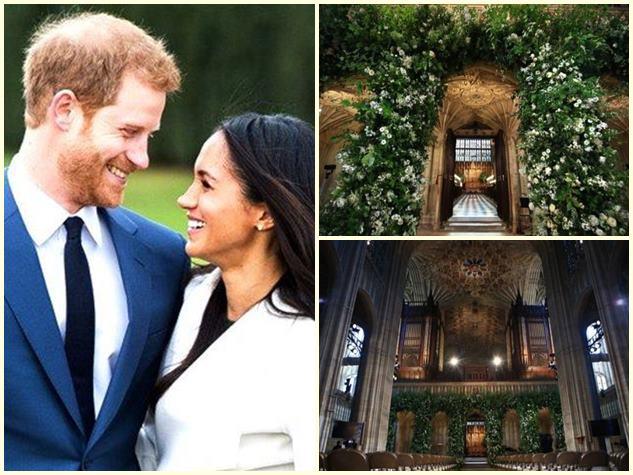Royal Wedding: प्रिंस हैरी और मेगन की शादी के लिए ऐसे सजा Windsor Castle