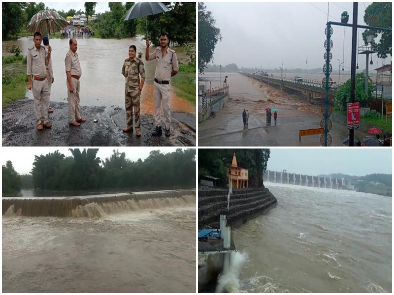 Madhya Pradesh Weather Alert : मध्य प्रदेश में आज भी ऑरेंज अलर्ट, मंडला-रायसेन हुए पानी-पानी