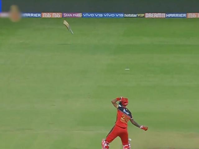 Video IPL 2019 : हेटमायर के दनदनाते शॉट से बैट हवा में उड़ गया, आप भी देखिए कैसे