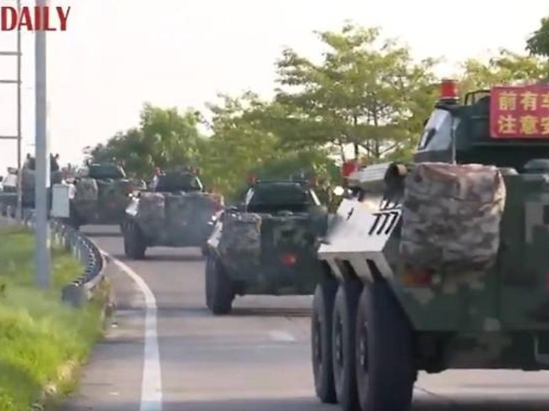 Hong Kong vs China: ट्रम्प का बड़ा बयान - खुफिया सूचना है कि चीन सेना लेकर हांगकांग की ओर बढ़ रहा