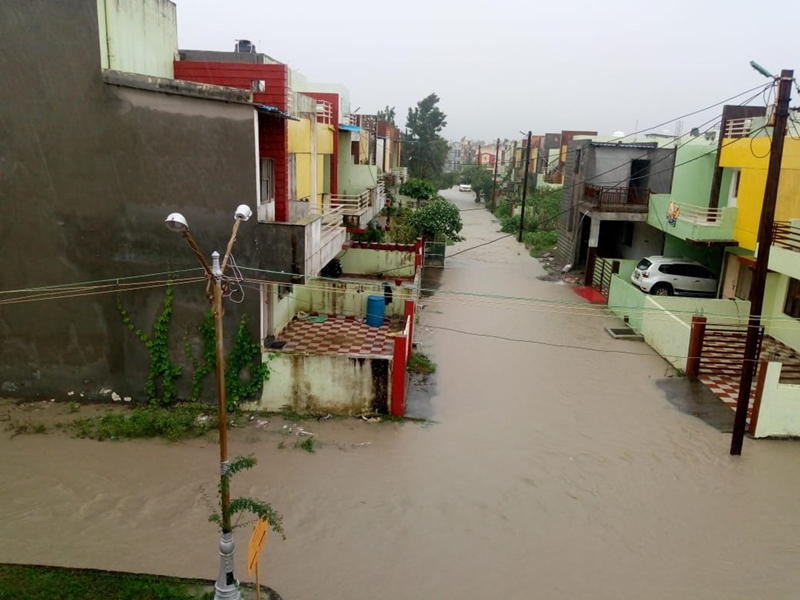 Madhya Pradesh Weather Alert : होशंगाबाद में जोरदार बारिश, कई जिलों में बुधवार को भी चेतावनी